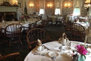 Inside view of dining room at Asa Ransom House
