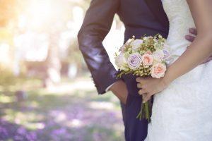 Bride and groom at our wedding venue near Buffalo, NY